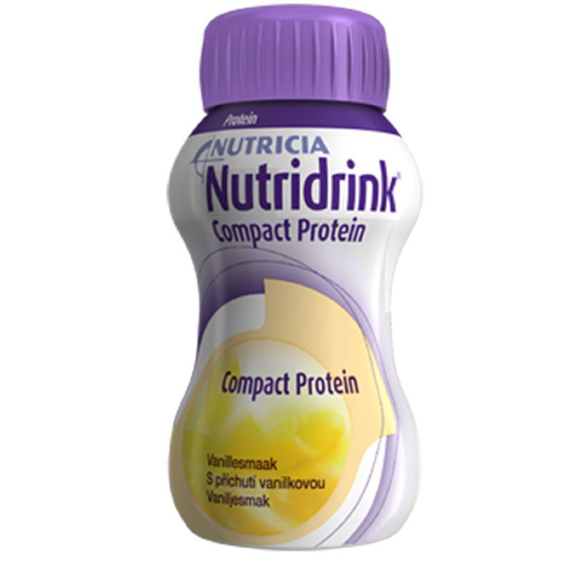 Nutridrink compact protein со вкусом банана Nutricia, 125 мл, 4 шт