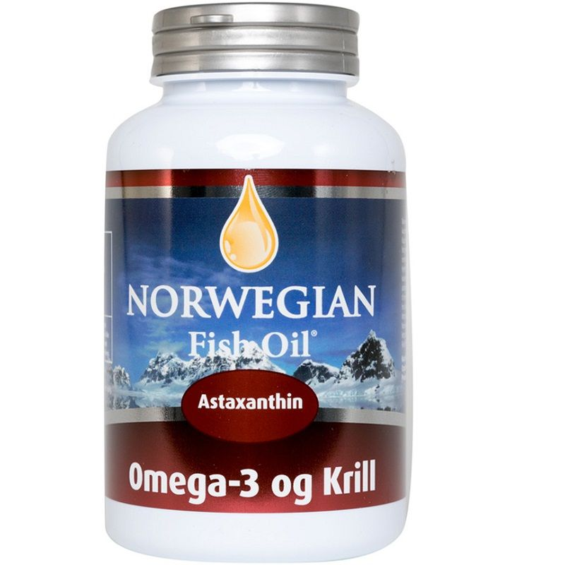Омега-3 Масло Криля Norwegian Fish Oil Krill Oil 1450 мг, 60 капсул