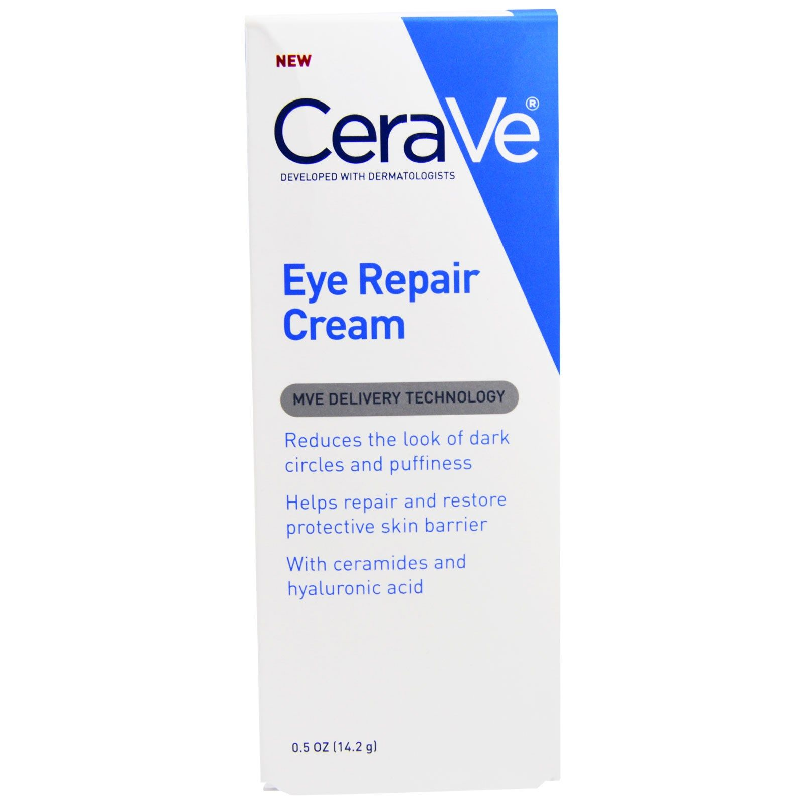 Восстанавливающий крем для контура глаз CeraVe Eye Repair Cream, 14 мл