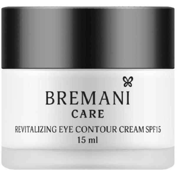 Восстанавливающий крем для кожи вокруг глаз с SPF15 Revitalizing Eye Contour Cream SPF15 Bremani NSP, 15 мл